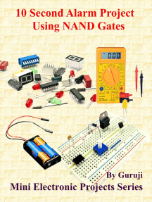 10 Second Alarm Project Using NAND Gates