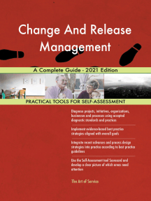 Change And Release Management A Complete Guide - 2021 Edition