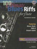 100 Ultimate Blues Riffs for Flute Beginner Series