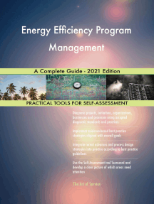 Energy Efficiency Program Management A Complete Guide - 2021 Edition