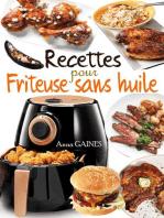 Recettes pour friteuse sans huile
