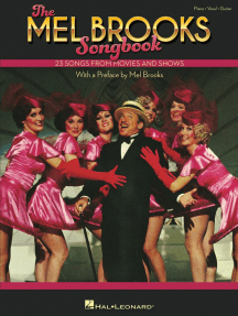 The Mel Brooks Songbook: 23 Songs from Movies and Shows with a preface by Mel Brooks