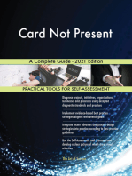 Card Not Present A Complete Guide - 2021 Edition