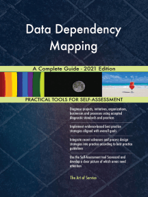 Data Dependency Mapping A Complete Guide - 2021 Edition