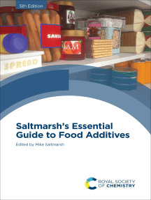 Saltmarsh's Essential Guide to Food Additives