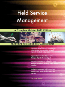 Field Service Management A Complete Guide - 2021 Edition