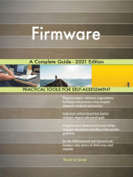 Firmware A Complete Guide - 2021 Edition