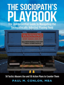The Sociopath's Playbook: 50 Tactics Abusers Use and 50 Action Plans to Counter Them