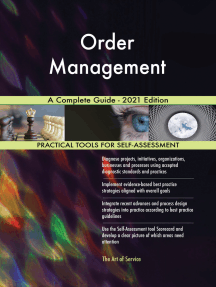 Order Management A Complete Guide - 2021 Edition