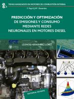 Predicción y optimización de emisiones y consumo mediante redes neuronales en motores Diesel