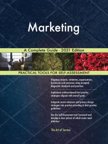 Marketing A Complete Guide - 2021 Edition