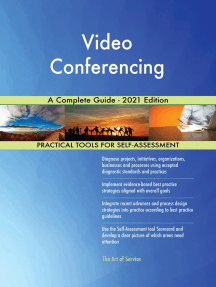 Video Conferencing A Complete Guide - 2021 Edition