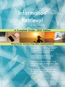 Information Retrieval A Complete Guide - 2021 Edition