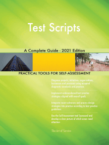 Test Scripts A Complete Guide - 2021 Edition