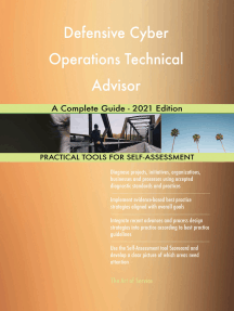 Defensive Cyber Operations Technical Advisor A Complete Guide - 2021 Edition