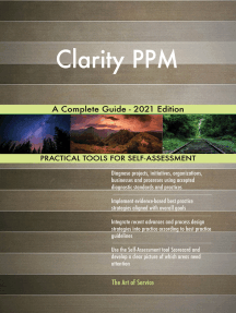 Clarity PPM A Complete Guide - 2021 Edition