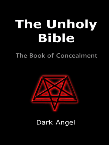 The Unholy Bible: The Book of Concealment