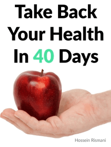 Take Back Your Health In 40 Days
