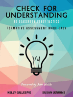Check for Understanding 65 Classroom Ready Tactics