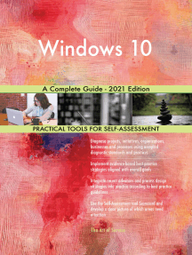 Windows 10 A Complete Guide - 2021 Edition