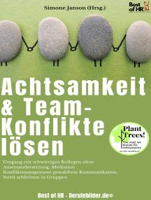 Achtsamkeit & Team-Konflikte lösen: Umgang mit schwierigen Kollegen ohne Auseinandersetzung, Mediation Konfliktmanagement gewaltfreie Kommunikation, Streit schlichten in Gruppen