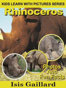 Rhinoceros Photos and Fun Facts for Kids: Kids Learn With Pictures, #26