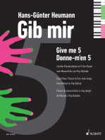 Gib mir fünf: Leichte Klavierstücke im 5-Ton-Raum vom Menuett bis zur Pop-Ballade