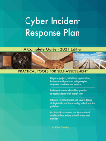 Cyber Incident Response Plan A Complete Guide - 2021 Edition