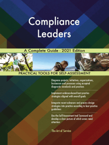 Compliance Leaders A Complete Guide - 2021 Edition