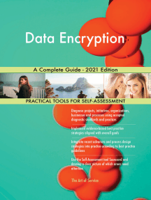 Data Encryption A Complete Guide - 2021 Edition