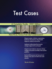 Test Cases A Complete Guide - 2021 Edition