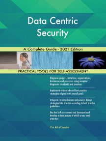 Data Centric Security A Complete Guide - 2021 Edition