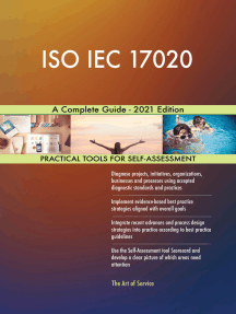 ISO IEC 17020 A Complete Guide - 2021 Edition