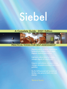 Siebel A Complete Guide - 2021 Edition