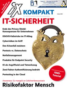 iX Kompakt IT-Security: IT-Sicherheit