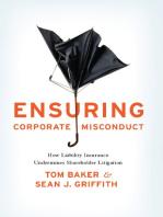Ensuring Corporate Misconduct