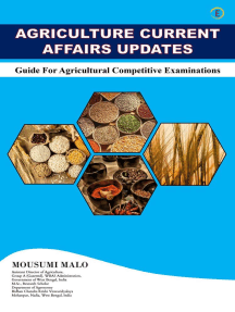 Agriculture Current Affairs Updates - Guide for Agricultural Competitive Examinations
