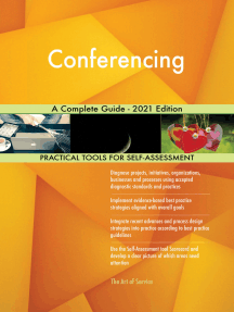 Conferencing A Complete Guide - 2021 Edition