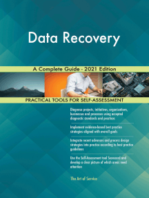 Data Recovery A Complete Guide - 2021 Edition