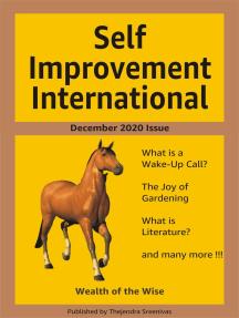 Self Improvement International: December 2020