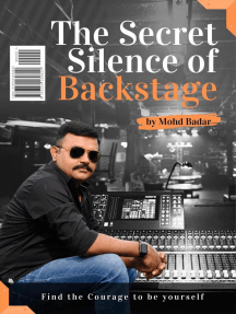 The Secret Silence Of Backstage