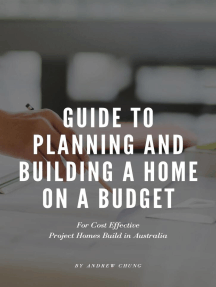 Guide to Planning and Building a Home on a Budget