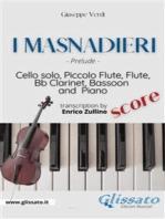 I Masnadieri (Prelude) - Cello, Woodwinds & Piano (score)