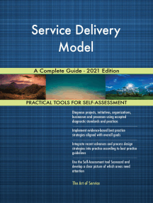 Service Delivery Model A Complete Guide - 2021 Edition