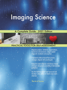 Imaging Science A Complete Guide - 2021 Edition