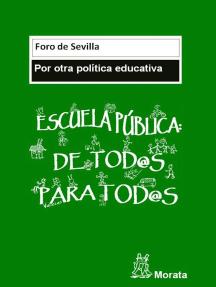 Manifiesto: Por otra política educativa
