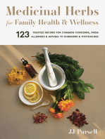 Medicinal Herbs for Family Health and Wellness