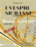 I Vespri Siciliani - Brass Quintet (score)