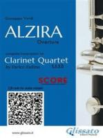 Alzira - Clarinet Quartet (score)