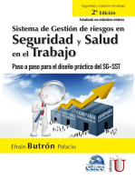 Sistema de gestión de riesgos en seguridad y salud en el trabajo. 2ª Edición: Paso a paso para el diseño práctico del SG-SST